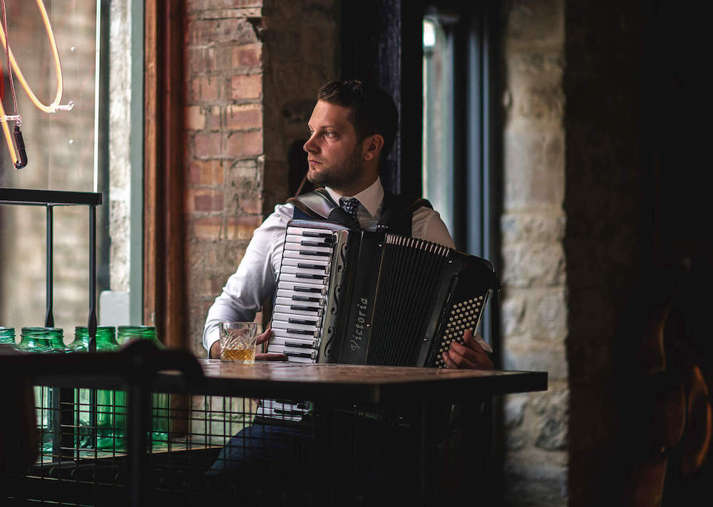 Accordionist image